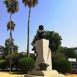 Monumento al celebre Antonio Mairena