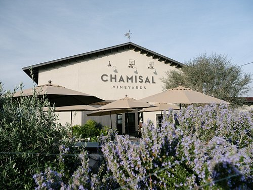 Chamisal Vineyards winery and tasting room.