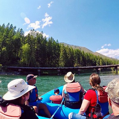 Scenic Float on the Flathead River.