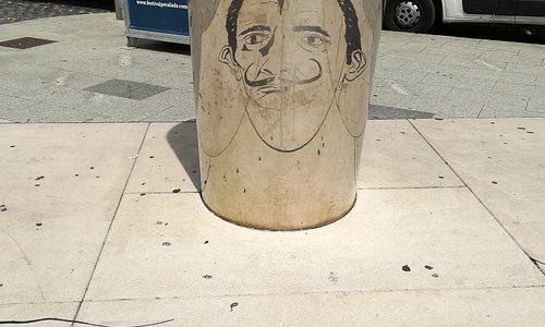 La cara de Dalí