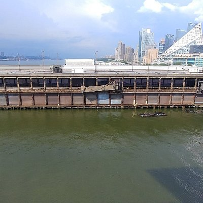 The old cruise terminal. What an eyesore!