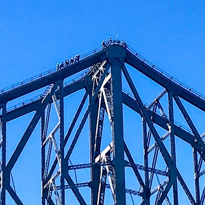 Bridge climbers another activity to do