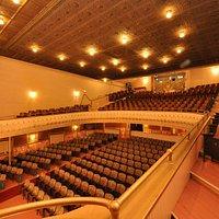 The Beautiful auditorium of the Larcom Theatre