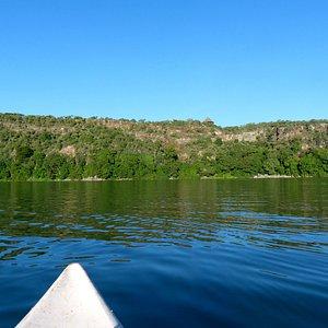 Kayaking at Lake Chala