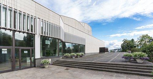 Jyväskylä City Theatre (also one of architect Alvar Aalto's locations). Photo: Tero Takalo-Eskola