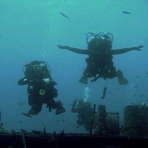 Погружение на корабль в Красном море, Египет