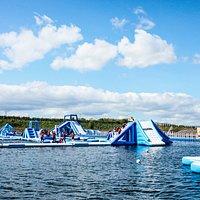 Aqua Park at Let's Go Hydro