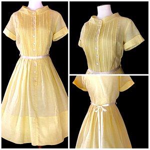 1950s Buttercup Dress