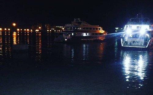 Portsudan at night