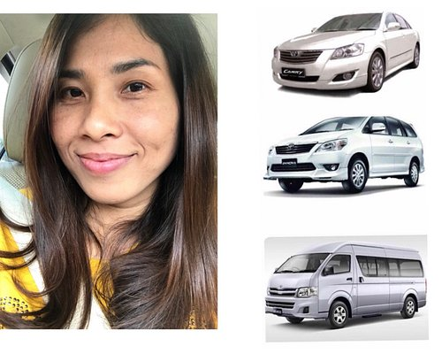 Private taxi service from and to Airport, Bangkok, Pattay, Huahin, Koh Samed,  Koh Chang, and everywhere in Thailand by comfortable vehicles, on time with fair service cost.
