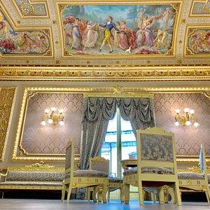 Palazzo Bonelli - Patanè, il Salone delle feste.
