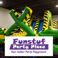 FUNSTUF PARTY PLACE INDOOR BOUNCE HOUSE ARENA