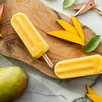 Mango-Tango Paleta anyone? Our Paletas are always made with fresh fruits.