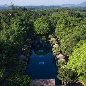 This is  Slope pool- one of our 3 pools in the resort.