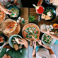 SALADS,DELICIUS PIZZA, PASTA MADE WITH LOVE!
