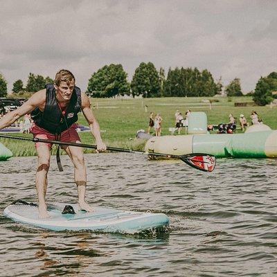 Paddleboarding, wakebarding, water ball and more...
