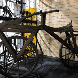 First bicycle in the world