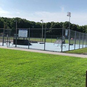 Basil Marella Park - basketball courts