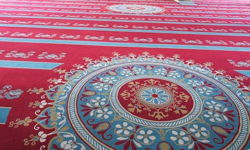 絨毯の様子