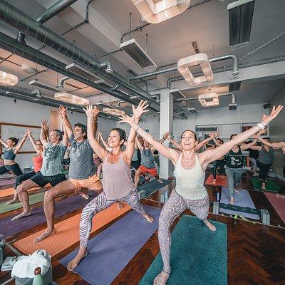 Lumi Power Yoga class