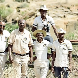 Flight & Safaris International Team on safari