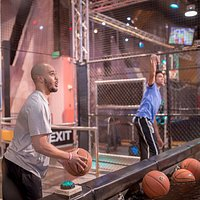 Free Throw Drills - pick an exhibit with or without a fan-jeering experience!