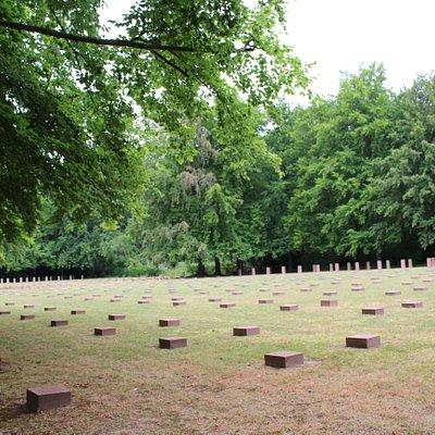 Tumbas cementerio aleman de Beauvais ww2