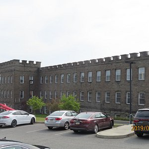 This is the Silk Mill Building where Art of the Edge is located