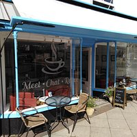 Front of the cafe