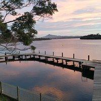 Tidal Pool Mylestom Bellinger River Sunset