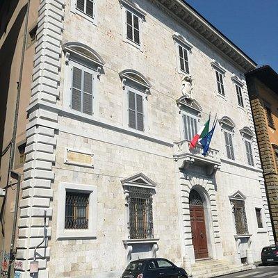 Archivio di Stato di Pisa, Palazzo Toscanelli-Lanfanchi, Lungarno Mediceo, 17, Пиза, июль.