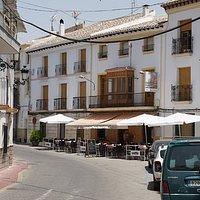 Café-bar La Gatera, Velez-Blanco outside seating