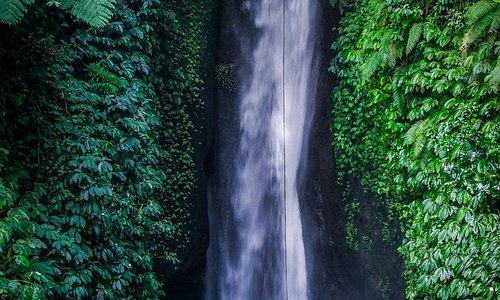 Amazing natural waterfall