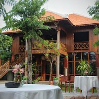 A Traditional Khmer Building