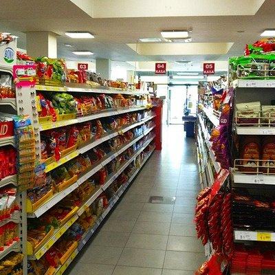 Ground floor supermarket