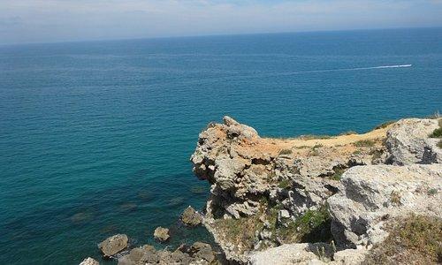 vue de la falaise