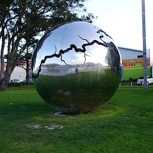 Beaultiful shiny sphere