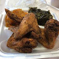 Fried Chicken Wing Meal