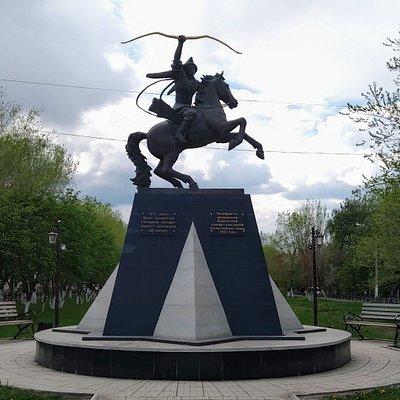Памятник легендарным Башкирским полкам, Сибай.