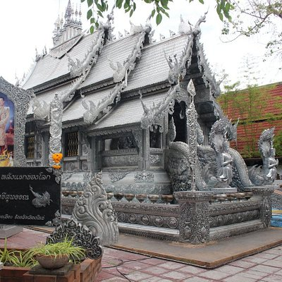 Silver Temple, Ubosode(อุโบสถ), Silver Shrine