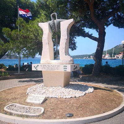 Memorial to the Croatian defenders killed during the conflict with Serbia/Montenegro 1991-1995