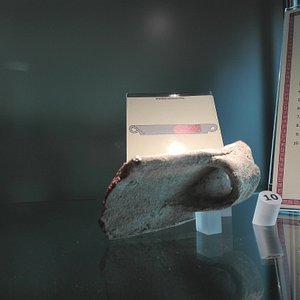 Uno dei tanti reperti presenti nell'esposizione museale