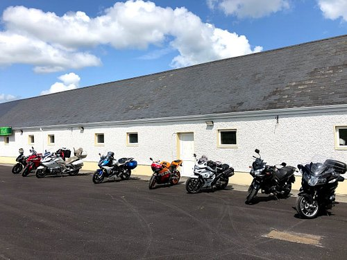 Parking outside the Heritage Centre