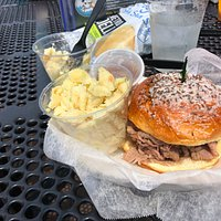 Tasty Beef on Weck at Off the Hook