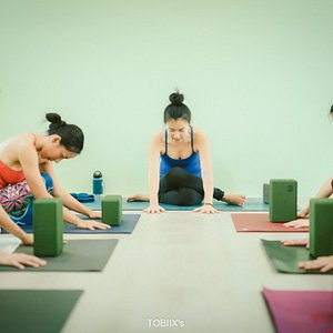 Yin Yoga special class was so relax and wonderful.