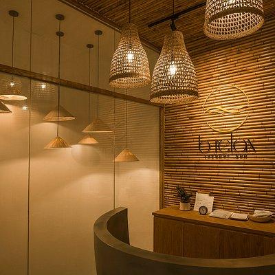 Brelax reception area