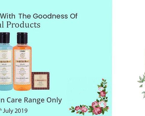 Sale Skin Care product-KhadiNatural  Sale 15% Offer Valid For Skin Care Range Only Valid till 29th july 2019 Visit:-https://www.khadinatural.com/skin-care.html