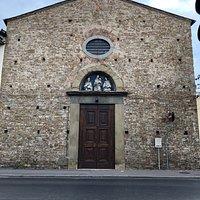 Chiesa di San Jacopo di Ripoli, Via della Scala, Флоренция, июль.