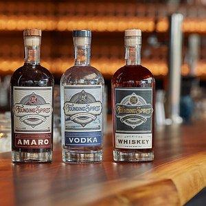 Amaro, Vodka, and Whiskey Distillery in DC