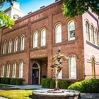 Old City Hall Arts Center in Redding, California